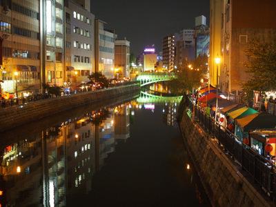 夜の堀川.JPG