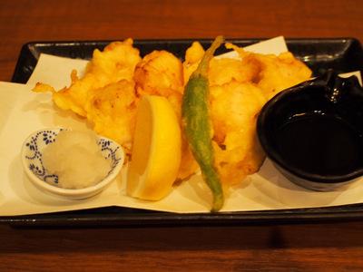 大和肉鶏の天ぷら.JPG
