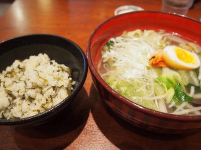 高菜御飯と太平燕.JPG