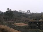 玄宮園から望む彦根城.jpg