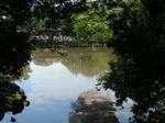 鷺池と浮見堂