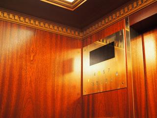 三井記念美術館エレベーター.JPG