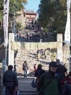 伊佐爾波神社階段.JPG