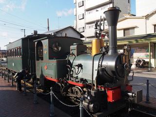 坊ちゃん電車.JPG